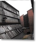 Factory Windows 3 Metal Print