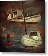 Fade Away Original Metal Print