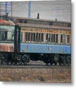 Faded Glory - B And O Railroad Car Metal Print