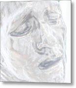 Faded Sculpture Metal Print