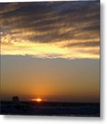 Fading Daylight Metal Print