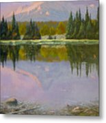 Fading Light - Peaceful Moment Metal Print