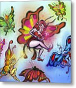 Faeries Metal Print