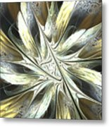 Faintly Flowered Metal Print
