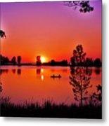 Fair Haven Sunset Metal Print
