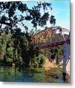 Fair Oaks Bridge Metal Print
