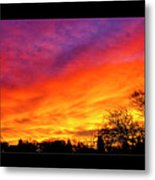Fair Oaks Sunset Metal Print