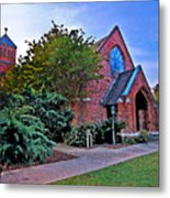 Fairhope Alabama Methodist Church Metal Print