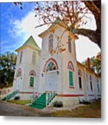Fairhope Zion Church Metal Print