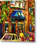 Fairmount Bagel In Montreal Metal Print