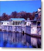 Fairmount Water Works - Philadelphi Metal Print