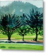 Fairway Junipers Metal Print