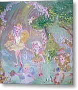 Fairy Archway Metal Print