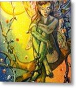 Fairy Elves Metal Print