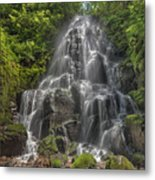 Fairy Falls On A Sunny Day Metal Print