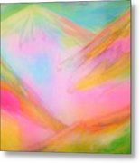Fairy Land And Magic Mountains. To Roerich Metal Print