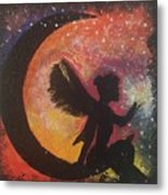 Fairy Life Faith Metal Print