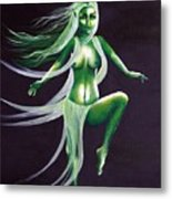 Fairy Of The Green Glens Metal Print
