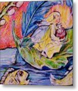 Fairy On The River. Metal Print