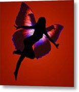 Fairy Silloutte Metal Print