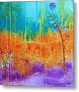 Fairy Tale Woods Metal Print