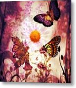 Fairy's Touch Metal Print