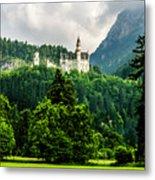 Fairytale Castle Neuschwanstein  Metal Print