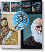 Faith And Evolution Metal Print