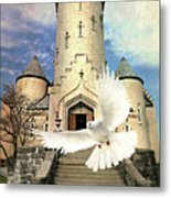 Faith Angel Metal Print