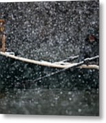 Faith In Snow Ka653 Metal Print