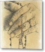Faith Never Grows Old Metal Print