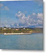 Fajardo Ferry Service To Culebra And Vieques Panorama Metal Print