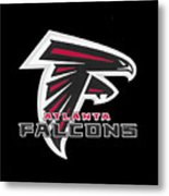 Falcons Atlanta T-shirt Metal Print