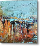 Fall Abstractions Metal Print