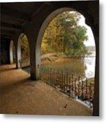 Fall Arches Metal Print