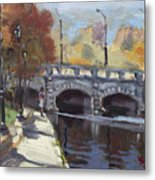 Fall At Delaware Park Buffalo Metal Print