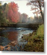 Fall at Griffin Mill Metal Print