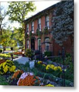 Fall At Lanier Winery In Madison  Metal Print