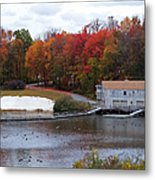 Fall At Schooley's Mountain Metal Print