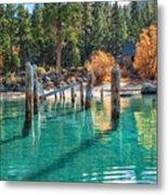 Fall At Skunk Harbor Lake Tahoe Metal Print