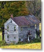 Fall At The Forgotten Farmhouse Metal Print