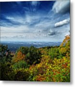 Fall Blue Ridge Parkway Metal Print