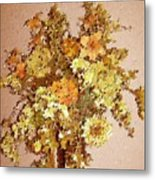 Fall Bouquet Metal Print