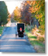Fall Buggy Metal Print