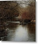 Fall Calm Metal Print