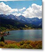 Fall Color At Trout Lake Metal Print