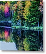 Fall Color Explosion Metal Print