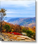 Fall Colors From Bear Mountain Metal Print