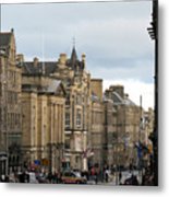 Fall Day In Edinburgh Metal Print