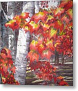 Fall Fantasy Metal Print